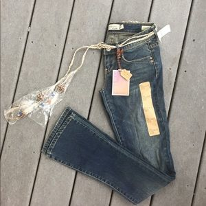 """Young and Faded Jeans- Pac Sun """"The Flirty Boot"""""""